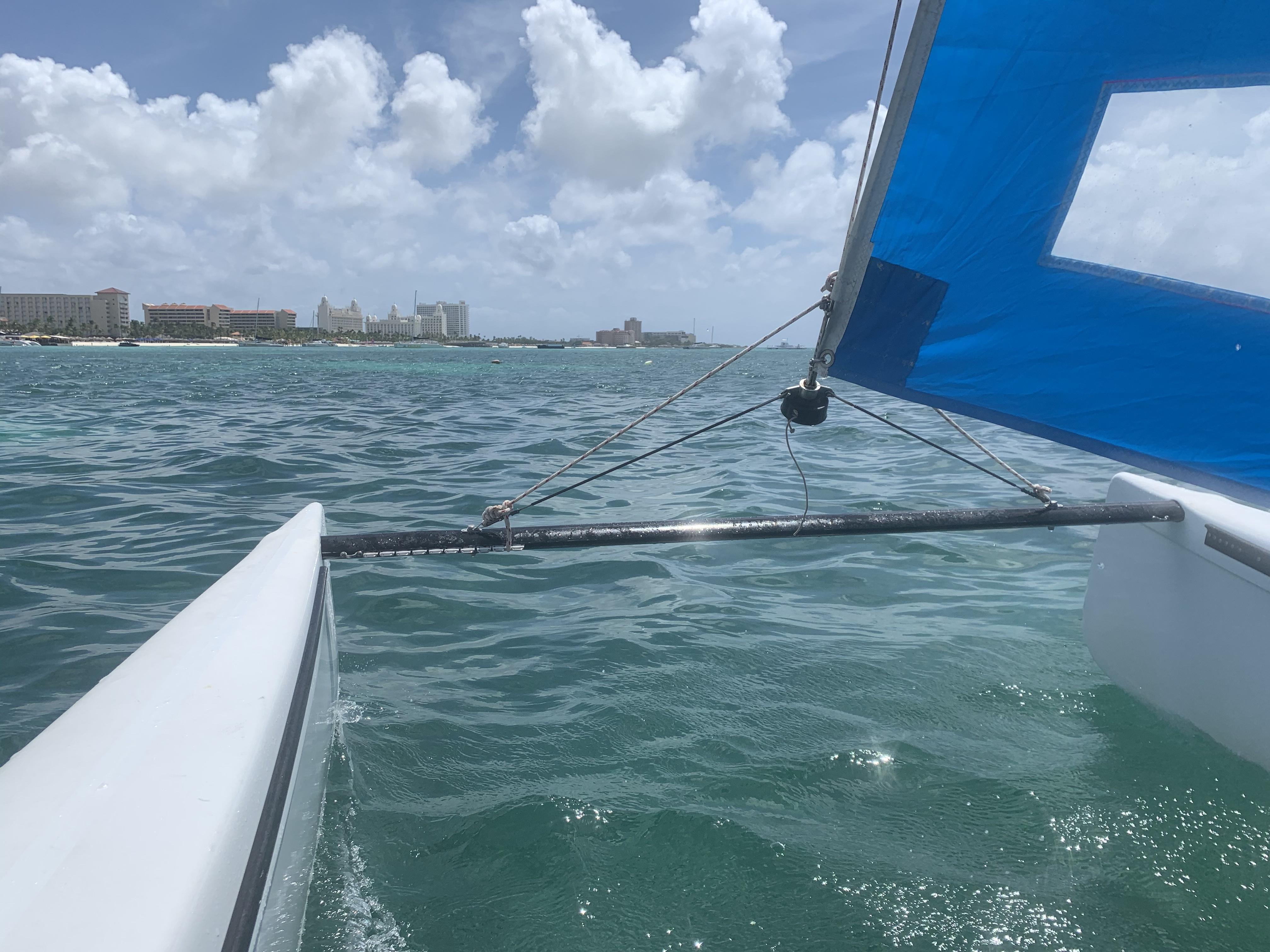 Hobie 14 one hour Sailing