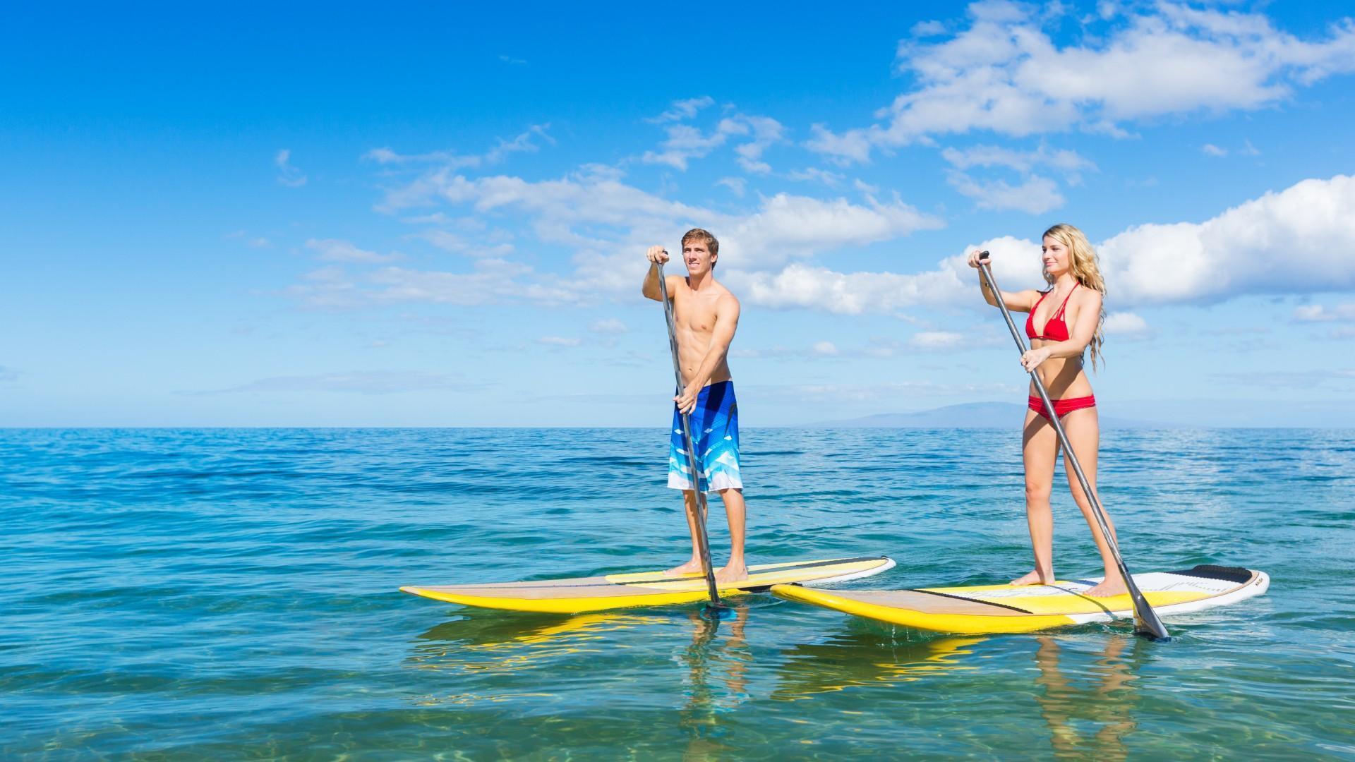 Paddle Boarding Workout