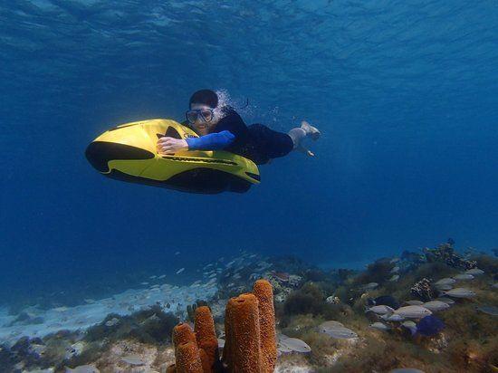 Seabob Tour Antilla Shipwreck